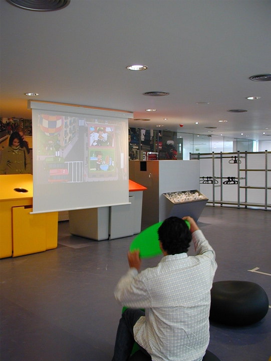 Computer Vision game application